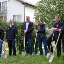 18.05.2016 Spatenanstich