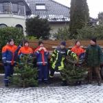 Einsammeln Weihnachtsbäume 14.01.17